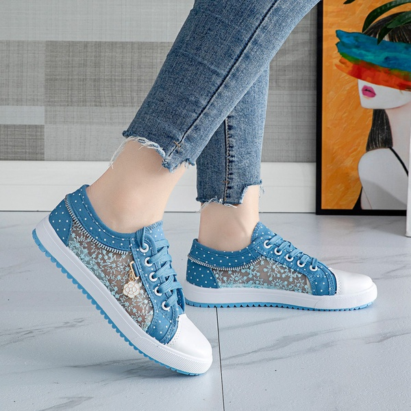Jean summer shoes picture