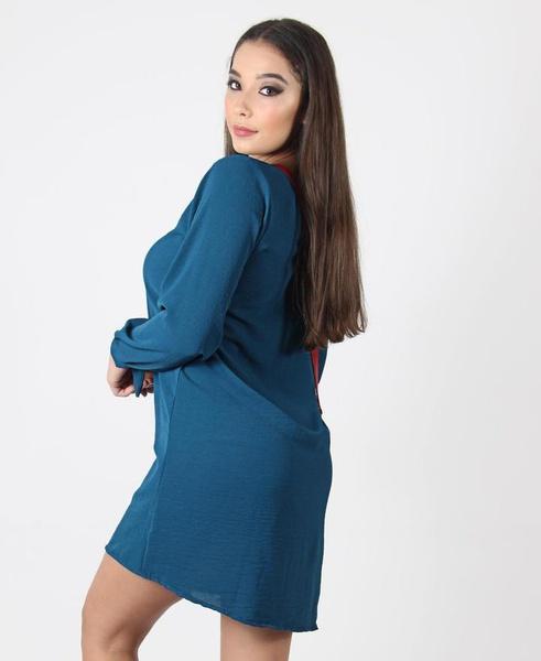 Short tie sleeve dress picture