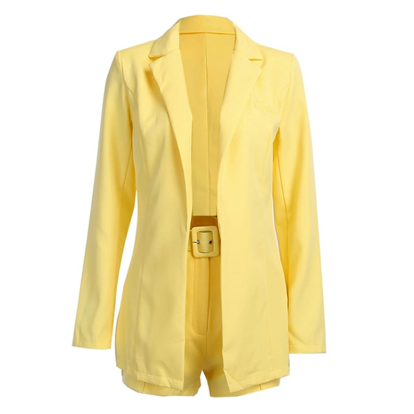 Oh polly bossing it suit set - yellow picture