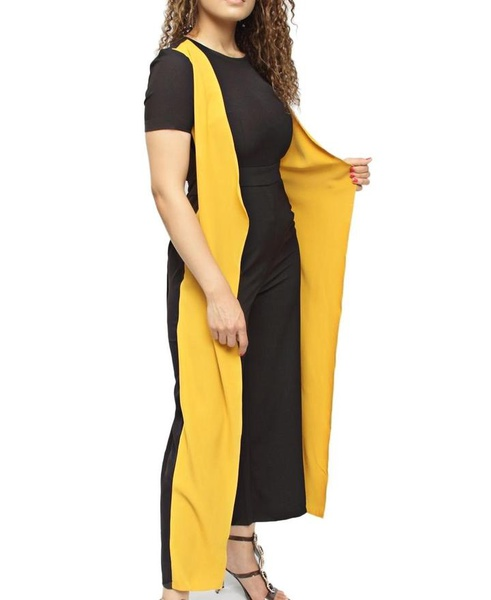 Jumpsuit- black and yellow picture