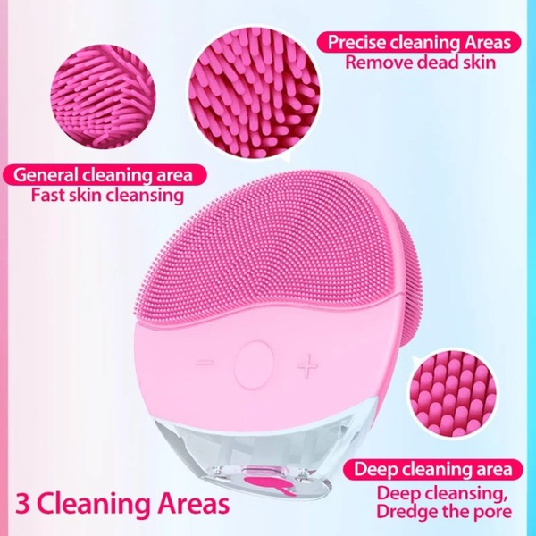 Electric silicone cleanser picture