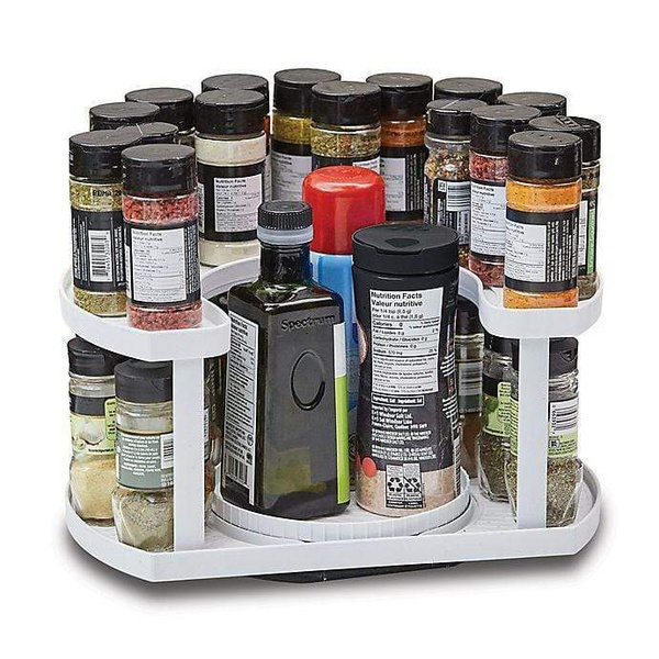 Rotating spice shelf picture