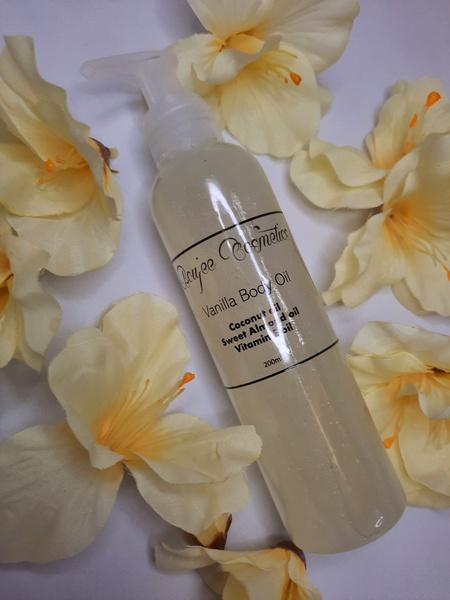 Vanilla body oil - 200ml picture
