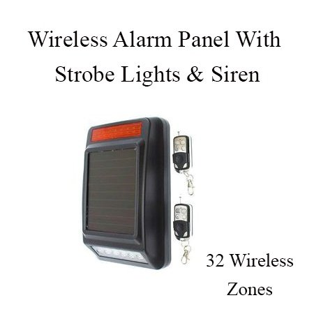 Hb-jhd-2 alarm panel (32 wireless zones ) picture