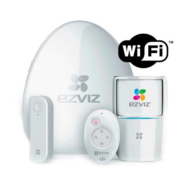 Hikvision ezviz bs-113a wifi alarm starter kit picture