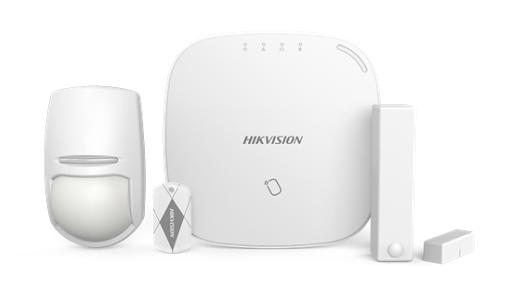 Hikvision wireless alarm 868mhz wireless control panel kit - sends sms and push notifications picture