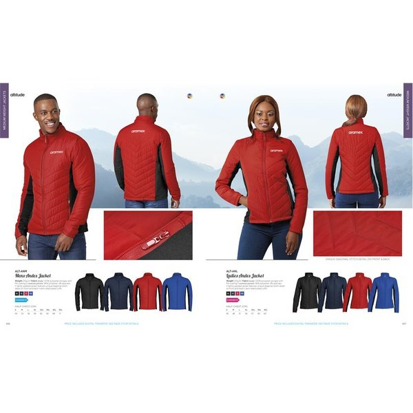 Andes jacket picture