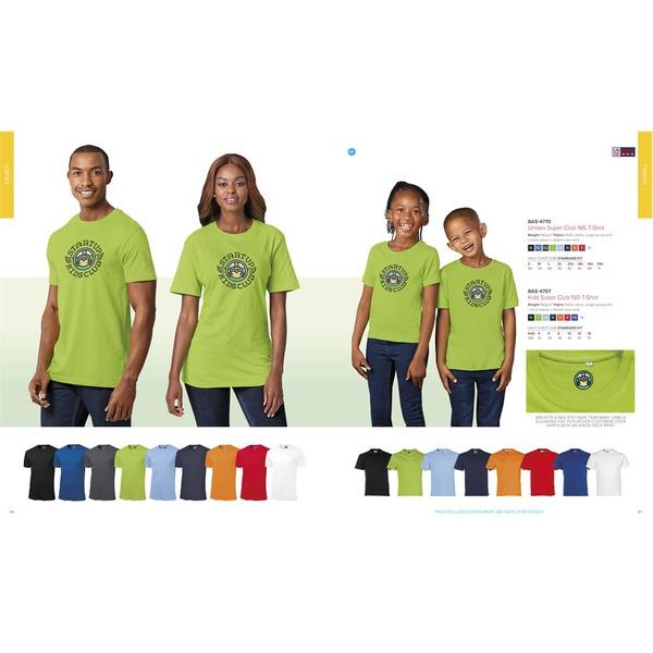 Unisex super club 165 t-shirt picture