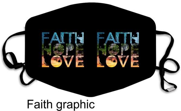 Faith masks picture