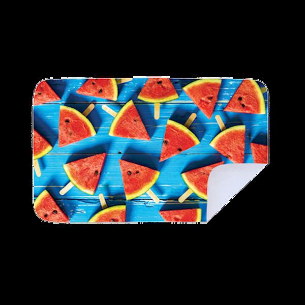 Microfiber beach towel - blue watermelon picture