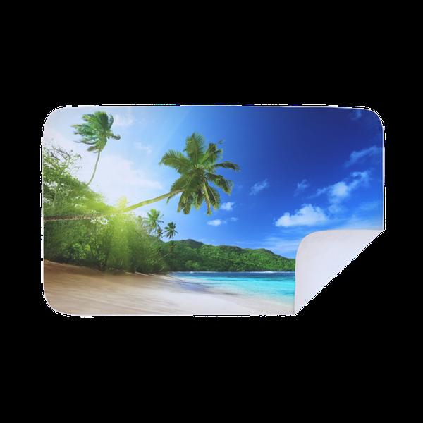 Microfiber beach towel  - seychelles picture