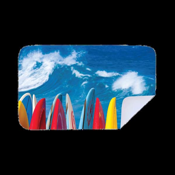 Microfiber beach towel  - surf boards picture