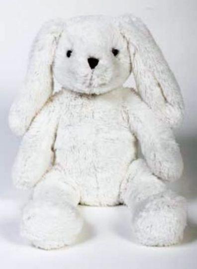 Plush white bunny picture