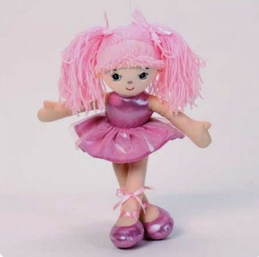 Ballet doll - 40cm pink picture