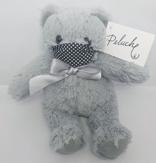Masked grey bear picture