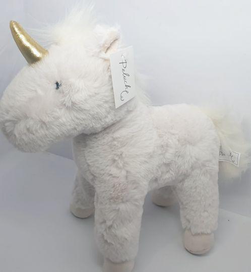 Unicorn magic plush picture