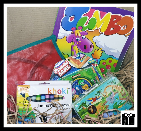 Toddlers gone fishing gift box picture