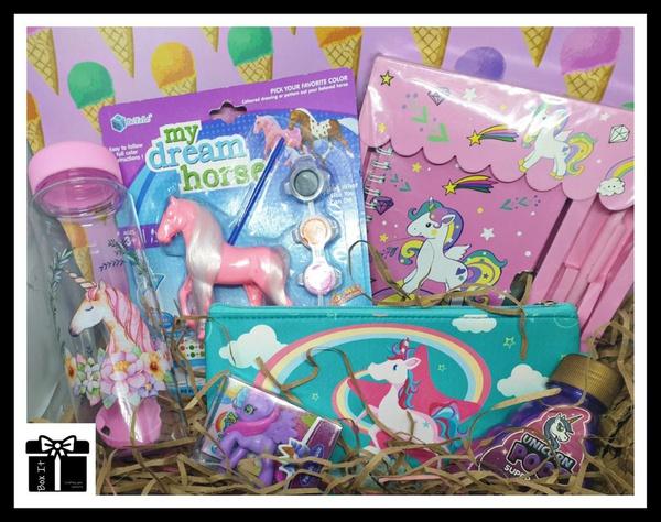 Fulfilled dream pony & unicorns gift box picture