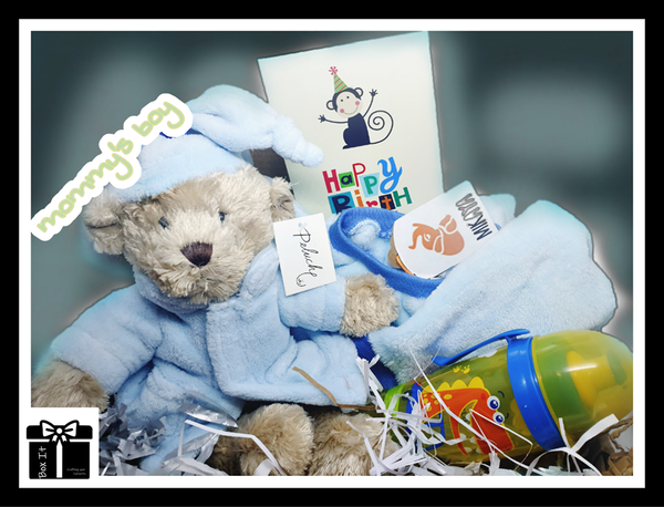 My little bear gift box picture