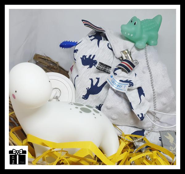 Dino sensory gift box picture