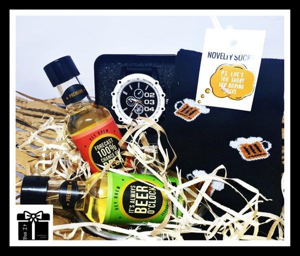Hey brew novelty gift box picture
