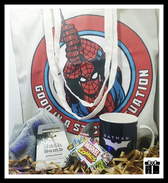 Marvel spider vs. batman hero fresh gift box picture