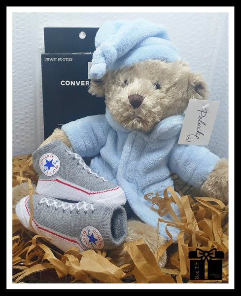 "Baby boy ""all star"" gift box. picture"