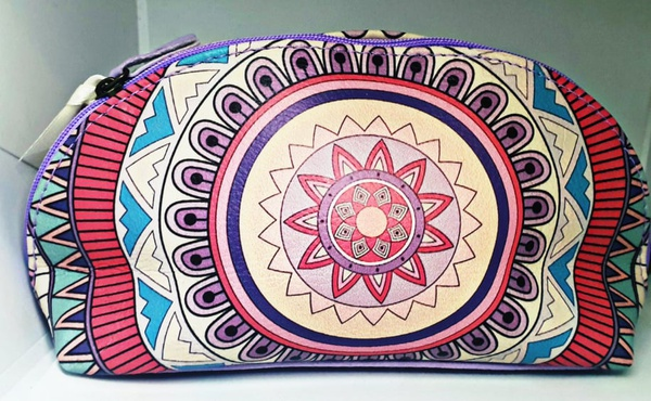 Mandala cosmetics purse picture