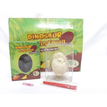 Novelty easter dinosaur excavation egg kit picture
