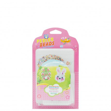 Easter - easter craft - perler beads (pink) picture