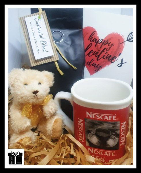 Coffee lover's gift box picture