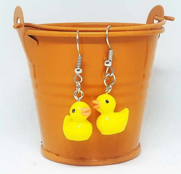 Mini duckling earing charms picture