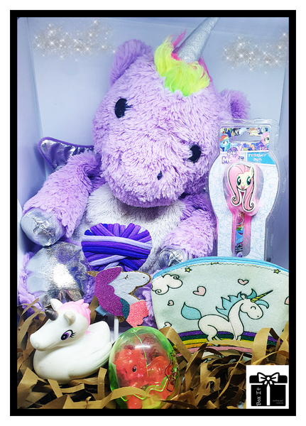 Magical unicorn warmth and beauty gift box picture