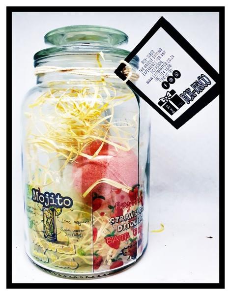 Cocktail-mix trio spa jar picture