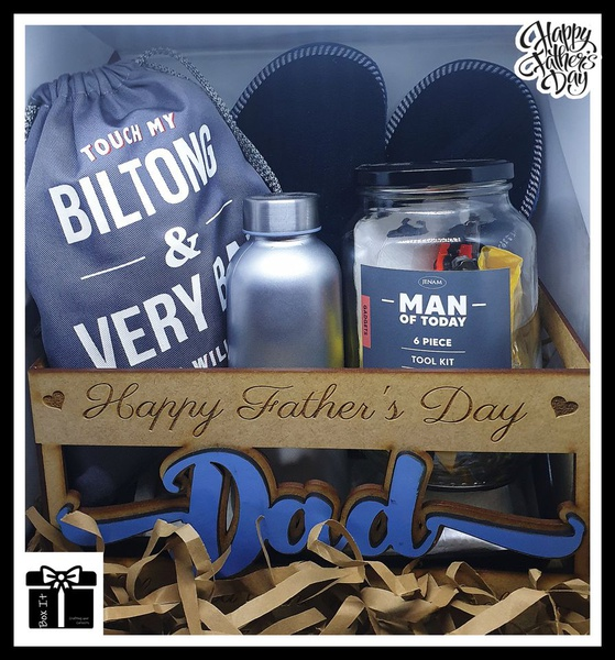 Dad crate gift set for father's day picture