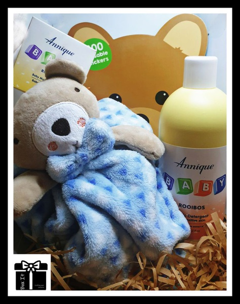 Baby bear coming soon gift box picture