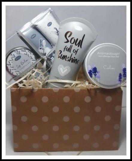 Calm gift box picture