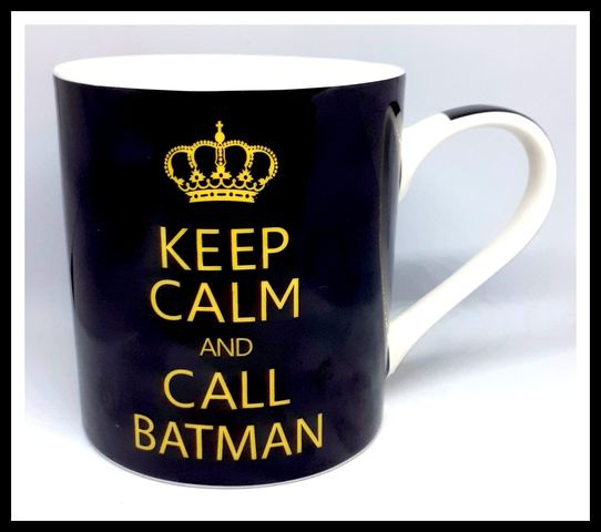 Keep calm and call batman mug picture