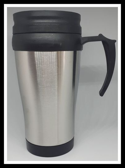 Stainless steel mug picture