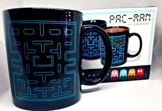Colour changing pack man mug picture