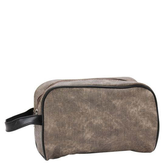 Soft touch pu wash bag picture