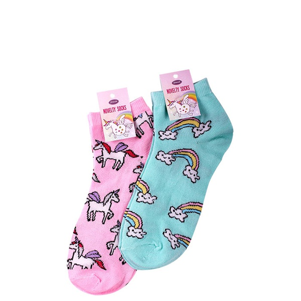 Unicorn dreams socks assorted 2 pairs picture