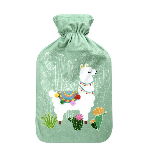 Llama water bottle picture