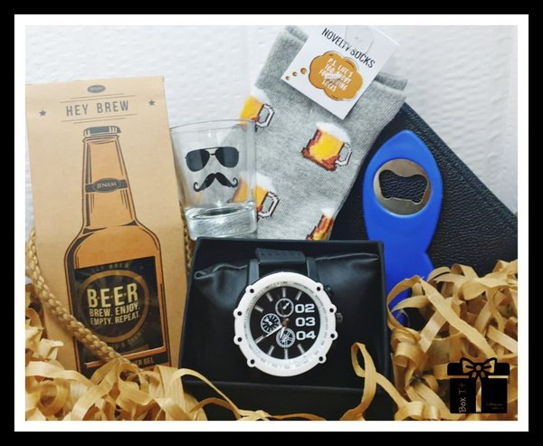 Cool dude gift box picture