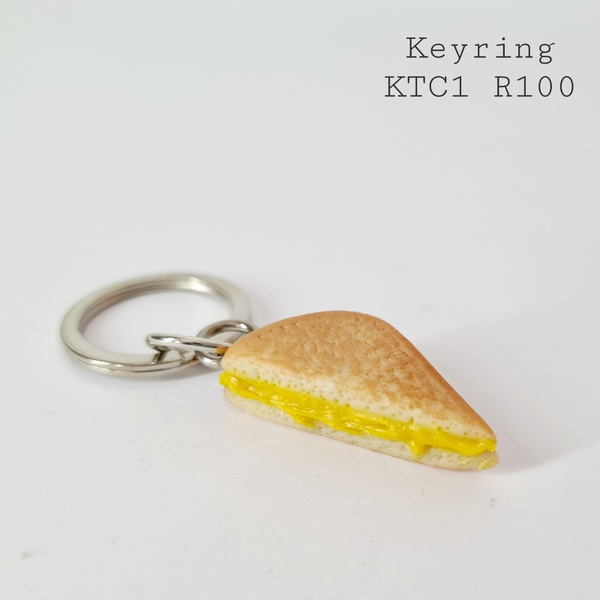 Toastie keyring picture