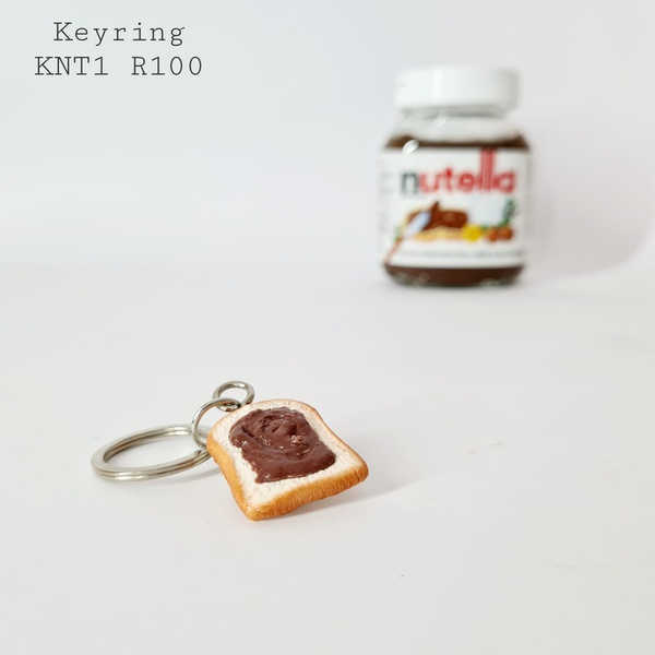 Nutella op toast keyring picture