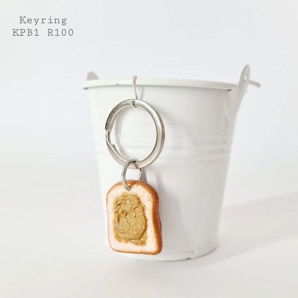 Sandwich spread keyring picture