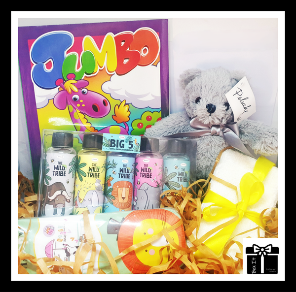 Toddler's gone wild gift box picture