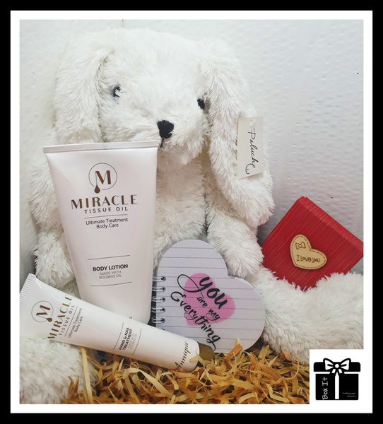Your my hunny bunny gift box picture