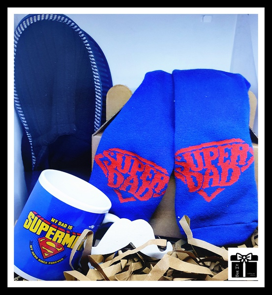 Superman my dad gift box picture